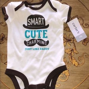 SMART CUTE CHARMING JUST LIKE DADDY